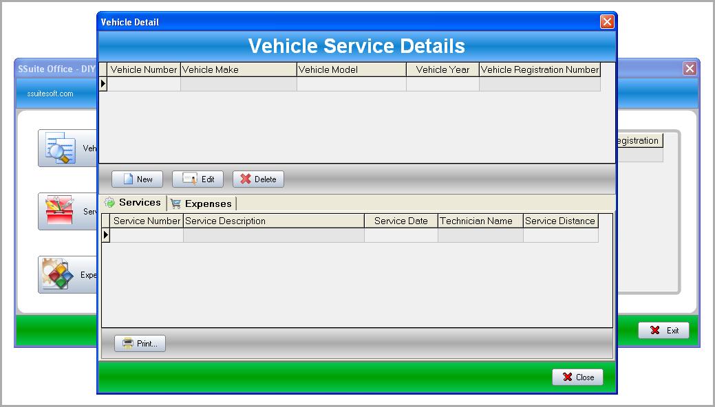 diy vehicle maintenance database ssuite office software keep