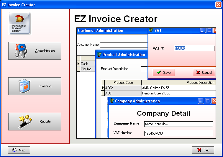 Delightful SSuite Office Software  Invoice Making Software