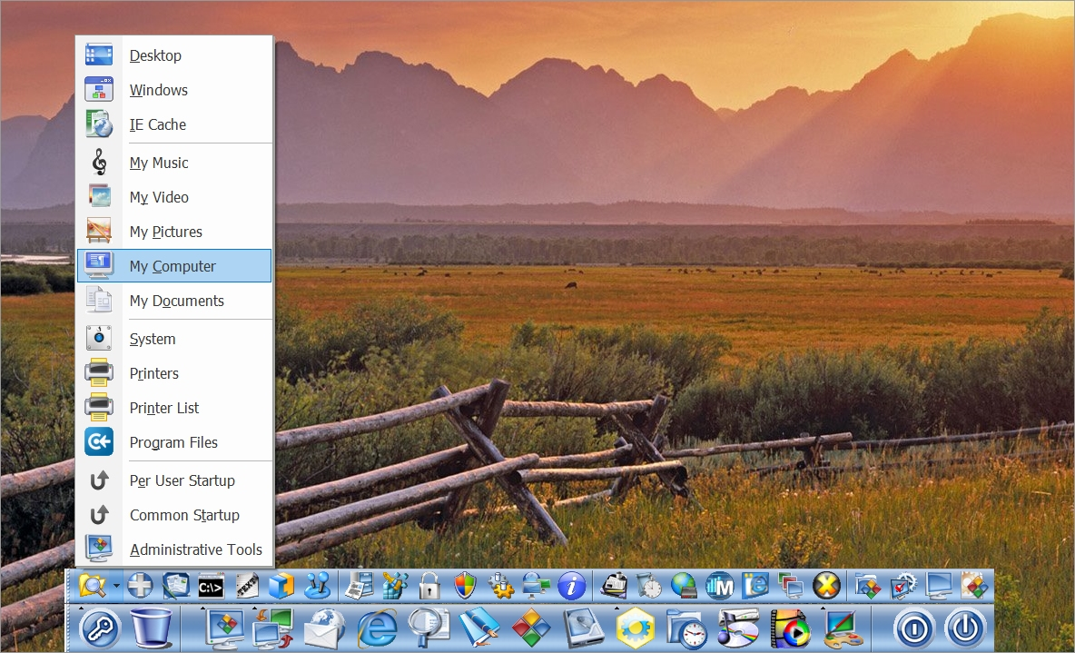 MAC DOCK screenshot