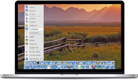 mac dock for windows 10