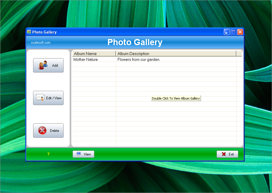SSuite Photo Gallery Album Creator - SSuite Office Software