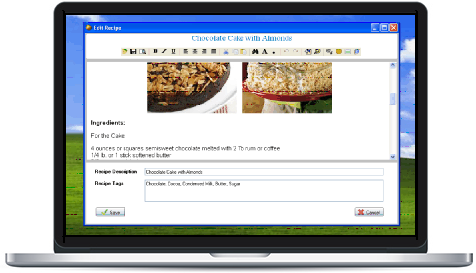 ssuite recipe organiser and database creator ssuite office software