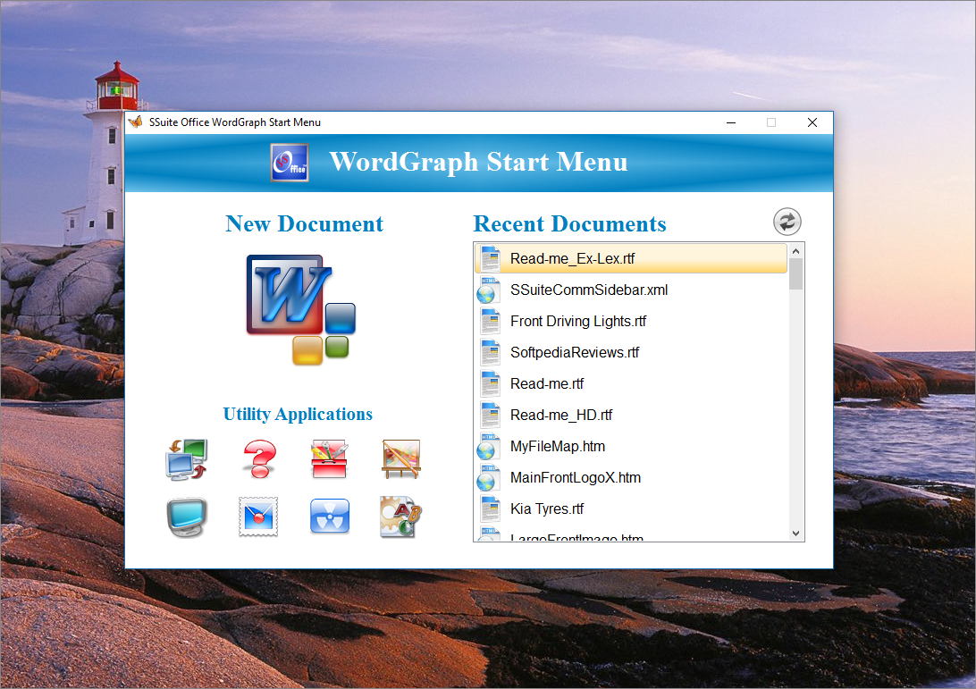 WordGraph - SSuite Office Software   A professional free